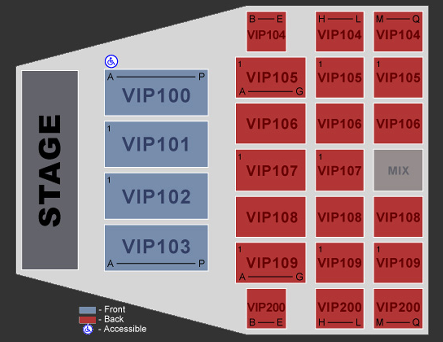 Seating Maps - Anderson Sports & Entertainment Center