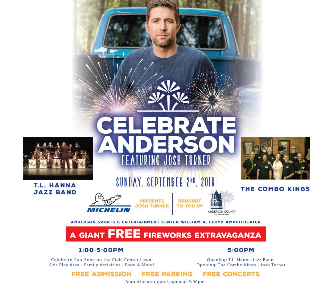 Celebrate Anderson Featuring Josh Turner